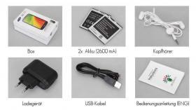 Foto 3 Top 5'' Android Smartphone Handy Ohne Simlock Ohne Vertrag Quadcore S4 Gesture Control