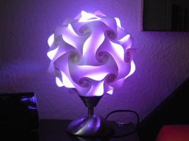 Touch Tischlampe Tischleuchte Größe M inkl.farbige Energiesparlampe