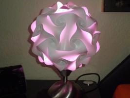 Foto 6 Touch Tischlampe Tischleuchte Größe M inkl.farbige Energiesparlampe