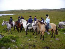 Foto 6 Trailreiten in Irland - Connemara