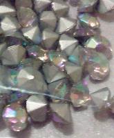 Transparente, regenbogenlich schillernde Glaskristallstein 4,5 mm (100 St.)