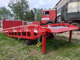 Transportable Auffahrrampe AUSBAU von Hersteller