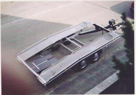 Transportanhänger für Pkw zu verkaufen.