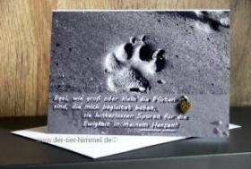 Foto 4 Trauerkarten für Tiere