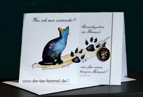 Foto 6 Trauerkarten für Tiere