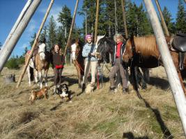 Foto 2 Trekking- Wanderreit- Reitferien in Todtmoos
