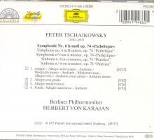 Foto 2 Tschaikowsky: Symphonie No. 6, ''Pathétique''
