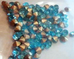 Foto 3 Türkis Glaskristallstein 3,5 mm (100 St.)
