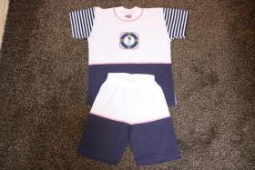 #Twin-Set, Hose und Shirt, Gr. 104, #NEU, #dunkelblau-weiß, #Just for you