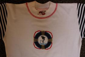 Foto 2 #Twin-Set, Hose und Shirt, Gr. 104, #NEU, #dunkelblau-weiß, #Just for you