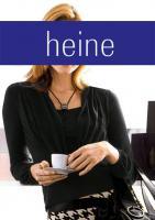 Two-in-One-Shirt - schwarz - heine - Größe 36 - Neu & OVP