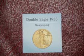 USA Double Eagle 2005 CuNi mit 24 Karat Vollvergoldung