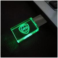 Foto 2 USB-STICK Auto-Logo in Grünen LED-Licht USB 2.0 8GB bis 64GB *NEU*