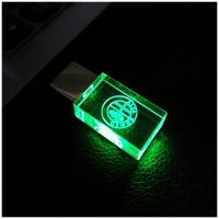Foto 3 USB-STICK Auto-Logo in Grünen LED-Licht USB 2.0 8GB bis 64GB *NEU*