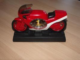 Uhr als Motorrad