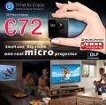 Ultramini portable Beamer HD nur 72€ frei Haus