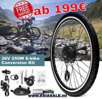 Umbau-Kit Elektro-Fahrrad ab 199€ versandkostenfrei