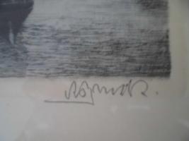 Foto 5 Unbekannte(r) Maler(in), Schrift unlesbar;man sieht eine Stadt;Bild