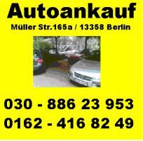 Unfallwagenankauf ohne Tüv Mängelfahrzeugeankauf PKW -LKW - BUS- Pick Up`s - Transporter aller Art 030 886 23 953