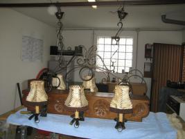 Unikat, handgearbeitete Deckenlampe
