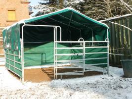 Foto 6 Unterstand, Überdachung, Wetterschutz- WeideZelt