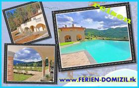 Urlaub Toskana Villa Idetta mit Pool in Dicomano