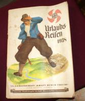 Urlaubs-Reisen Buch alt