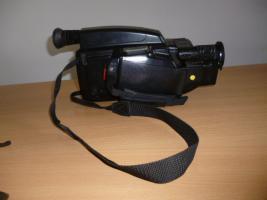 VHS-VIDEO-Kamera komplett mit allem Zubehör