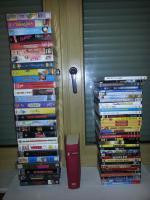 VHS & DVDs