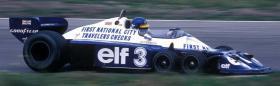 VINTAGE 1/8 3,5ccm 1977 Tyrrell P34 V8 Ronnie Peterson Team Tyrrell Elf  6Wheels Racing Car 1977