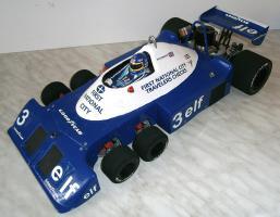Foto 3 VINTAGE 1/8 3,5ccm 1977 Tyrrell P34 V8 Ronnie Peterson Team Tyrrell Elf  6Wheels Racing Car 1977