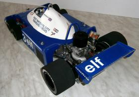 Foto 4 VINTAGE 1/8 3,5ccm 1977 Tyrrell P34 V8 Ronnie Peterson Team Tyrrell Elf  6Wheels Racing Car 1977