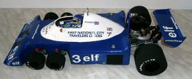 Foto 6 VINTAGE 1/8 3,5ccm 1977 Tyrrell P34 V8 Ronnie Peterson Team Tyrrell Elf  6Wheels Racing Car 1977