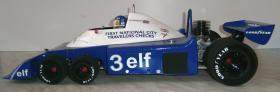 Foto 8 VINTAGE 1/8 3,5ccm 1977 Tyrrell P34 V8 Ronnie Peterson Team Tyrrell Elf  6Wheels Racing Car 1977