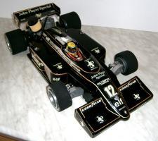 Foto 2 VINTAGE 1/8 3,5ccm 1985 Lotus Renault Ayrton Senna V6 tc Team Lotus/Renault JPS