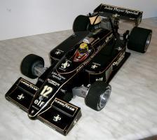 Foto 3 VINTAGE 1/8 3,5ccm 1985 Lotus Renault Ayrton Senna V6 tc Team Lotus/Renault JPS