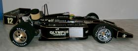 Foto 6 VINTAGE 1/8 3,5ccm 1985 Lotus Renault Ayrton Senna V6 tc Team Lotus/Renault JPS