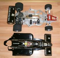 Foto 10 VINTAGE 1/8 3,5ccm 1985 Lotus Renault Ayrton Senna V6 tc Team Lotus/Renault JPS