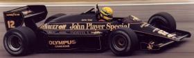 Foto 11 VINTAGE 1/8 3,5ccm 1985 Lotus Renault Ayrton Senna V6 tc Team Lotus/Renault JPS