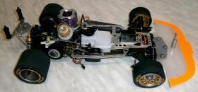Foto 13 VINTAGE Glattbahner Serpent Sprint R6000 1/8-3,5ccm-4WD-2 Gang voll funktionfähig mit vielen Ersatzteilen