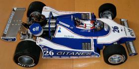 Foto 4 VINTAGE RC Formel1 1/8 Jacques Lafitte Ligier JS11 V8 1979 !!