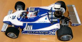 Foto 5 VINTAGE RC Formel1 1/8 Jacques Lafitte Ligier JS11 V8 1979 !!