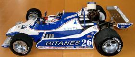 Foto 6 VINTAGE RC Formel1 1/8 Jacques Lafitte Ligier JS11 V8 1979 !!