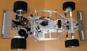 Foto 9 VINTAGE RC Formel1 1/8 Jacques Lafitte Ligier JS11 V8 1979 !!