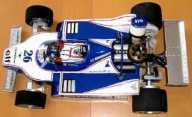 Foto 11 VINTAGE RC Formel1 1/8 Jacques Lafitte Ligier JS11 V8 1979 !!