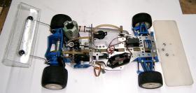 Foto 12 VINTAGE-Wettbewerbs Glattbahner 80er PMR PRO RACING 1/8 3,5ccm-4WD-2 Gang voll funktionsfähig mit vielen Ersatzteilen und Starterbox