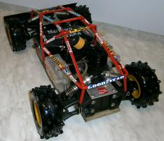 Foto 5 VINTAGE-Wettbewerbsbuggy 80er 1/8 4WD 3,5ccm OS 1985 Robbe Pantera