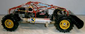 Foto 7 VINTAGE-Wettbewerbsbuggy 80er 1/8 4WD 3,5ccm OS 1985 Robbe Pantera