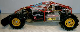 Foto 8 VINTAGE-Wettbewerbsbuggy 80er 1/8 4WD 3,5ccm OS 1985 Robbe Pantera