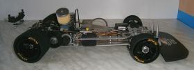Foto 15 VINTAGE  Glattbahner Serpent Quattro Sprint 1/8-3,5ccm-4WD-2 Gang voll funktionsfähig mit vielen Ersatzteilen